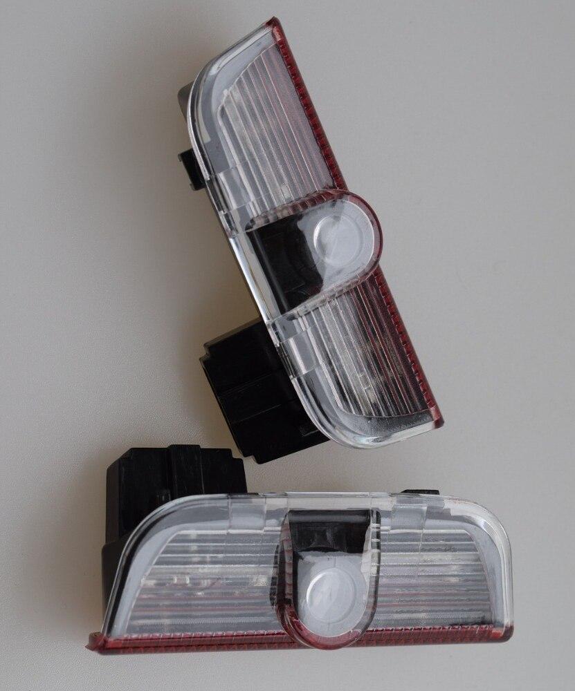 2 pcs Porta Do Carro luz laser projector lamp Led Para Volkswagen VW Jetta golf 6 7 Novo MAGOTAN Tiguan Passat b6 B7 CC bem-vindos luz
