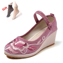 sepatu Bordir Gaya Bertumit