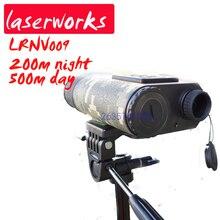 Buy Handheld rangefinder 500m Laser range finder IR Lighting Monocular Night Vision ,digital scope ,day and night vision telescope