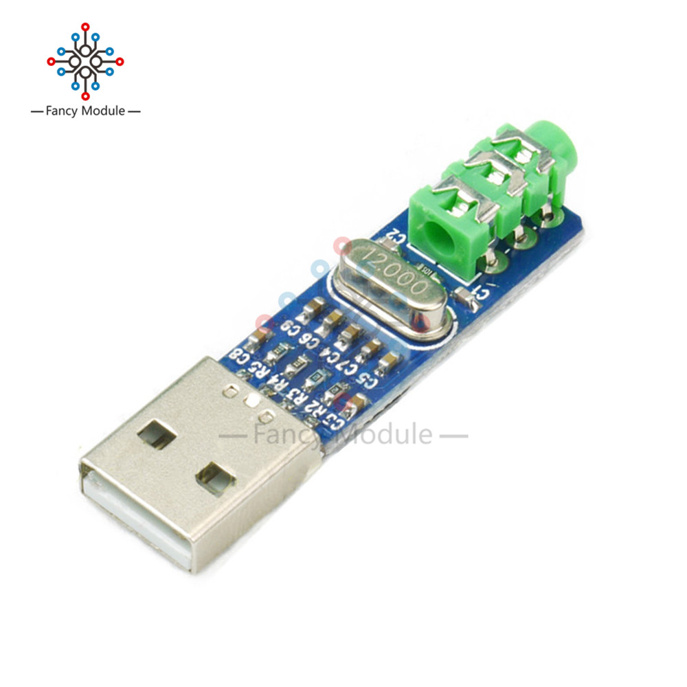 5V Mini PCM2704 USB DAC HIFI USB Sound Card USB Power DAC Decoder Board Module For Arduino Raspberry Pi 16 Bits Звуковая карта