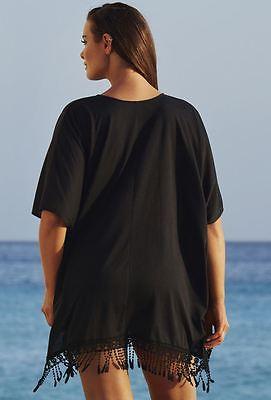 5a9ce11b6da91 Plus Size Womens Sexy Bathing Suit Crochet Bikini Swimwear Cover Up Beach  Dress Pareo Beach Tunic Cover ups ...