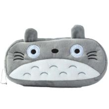 20CM My Neighbor Totoro Grey Plush Toy Animals Cat Plush Toys Coin Bags(China)