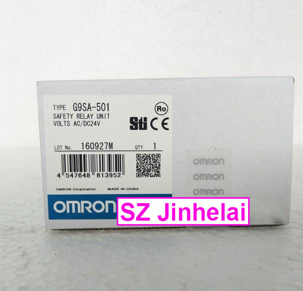 New and original  G9SA-501  AC/DC24V  OMRON SAFETY RELAY UNIT 100% new and original cj1w nc433 omron position control unit