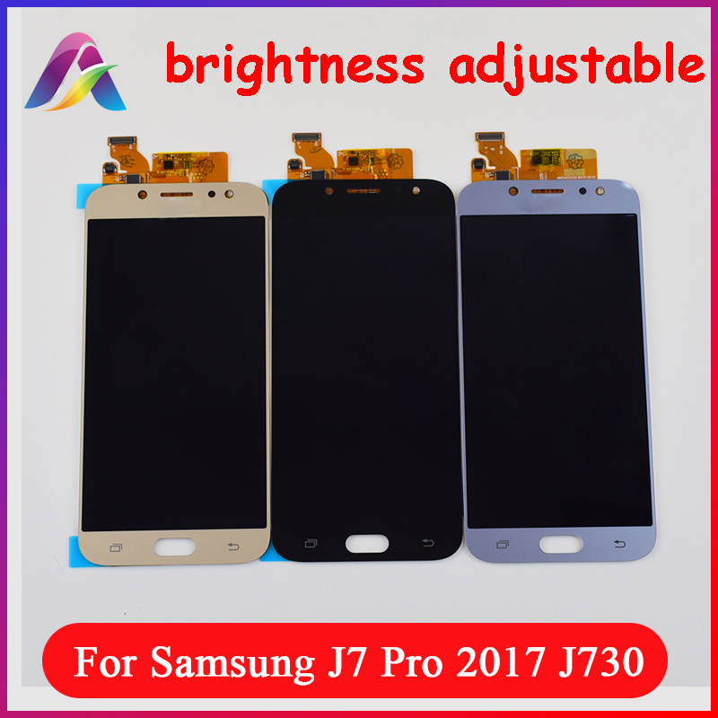 LCD For Samsung Galaxy J7 Pro 2017 LCD Screen J730F LCD Display Panel + Touch Screen Digitizer Sensor Assembly J730 LCD PanelLCD For Samsung Galaxy J7 Pro 2017 LCD Screen J730F LCD Display Panel + Touch Screen Digitizer Sensor Assembly J730 LCD Panel