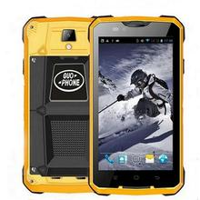 GUOPHONE V12 Original Smartphone waterproof shockproof 5.0 inch Android 4.4 GPS MTK6572 Dual Core 5MP outdoor 3G Cellphones