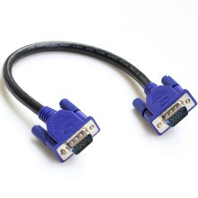 "25cm/10"" HD15Pin VGA D-Sub Short Video Cable Cord Male to Male M/M Male to Female and Female to Female for Monitor"