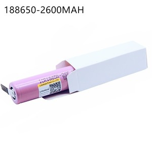 Image 3 - 5 PCS New For  ICR18650 26FM 18650 2600 mAh 3.7V Li ion Battery Rechargeable Battery