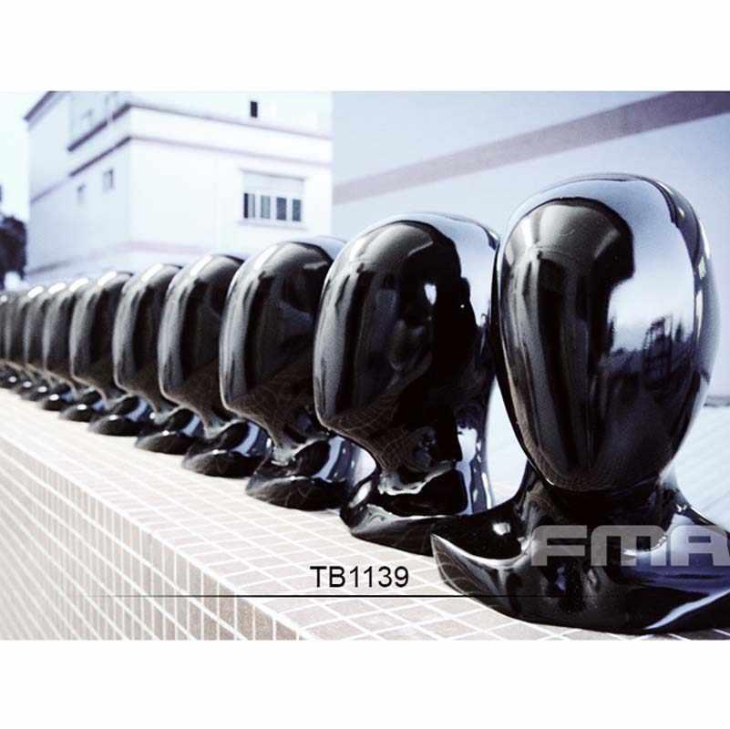 1 قطع جديد fma الأسود التكتيكية خوذة عرض نموذج TB1139