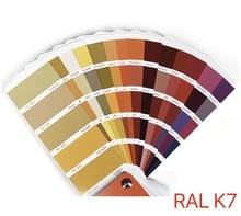 1Pieces 15x5cm Germany RAL K7 International Standard Color Card Raul - Paint Coatings машинка для стрижки babyliss pro fx44e