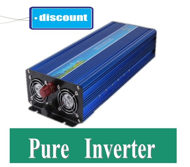 цена на 5000w pura sinus inverter 5000w pure sine wave power inverter,24V DC to AC 230V 50Hz,for solar wind battery home power supply
