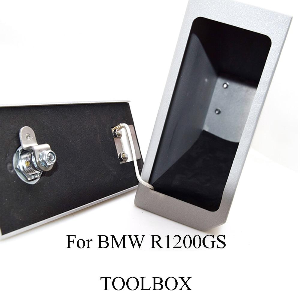 For BMW R1200GS ADV LC R1200 R 1200 GS Adventure 2014-2018 Decorative Aluminum Box Toolbox 5 Liters Tool Box Left Side Bracket