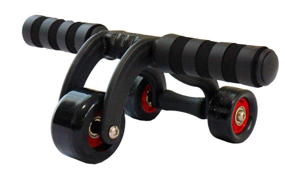 Rodillo para ejercicio muscular, rueda eléctrica Abdominal de tres ruedas, rodillo para abdominales, gimnasio en casa, ejercicio de entrenamiento, rodillo de polea deportiva - 2