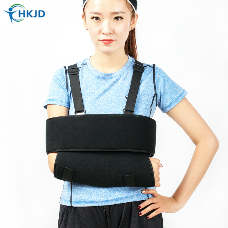 High Quality Arm Sling Aid Recovery of Injured Arm Shoulder Sling Medical Arm brace support for dislocation injury and fracture medical orthopedics fracture macromolecule fixed support first aid assula for animal