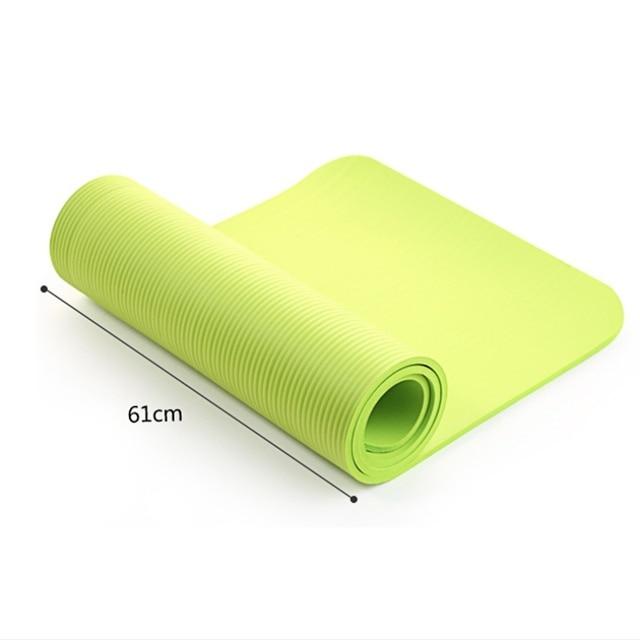 4 Colori Esercizio Stuoia di Yoga Pad di Spessore antiscivolo Pieghevole  Palestra Tappeto di Fitness Pilates daa0bdb37593