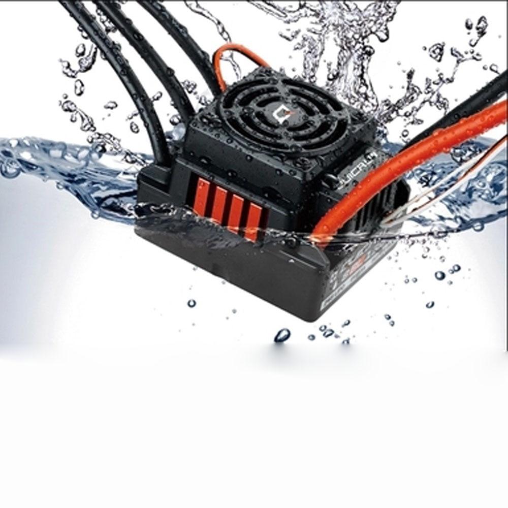 1 Piece Hobbywing Quicrun 8BL150 Brushless Waterproof Sensorless 150A ESC Rock Crawler ESC For 1/8 RC Car Model Accessory hobbywing quicrun wp 16bl30 hobbywing quicrun 30110000 brushless waterproof 30a sensorless esc wp 16bl30 for 1 16