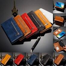 Manyetik kapak deri cüzdan kılıf için Huawei Mate 20 Pro 10 Lite Nova 2I 3I P30 P20 Pro onur 10 9 8A Y6 Pro Y7 başbakan Y9 kapak