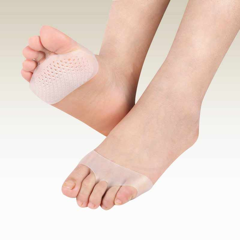 1 Pair Cellular Breathable Orthopedic Sets Foot Care Tools Sholl Gel Insoles For Shoes Bunion Corrector Valgus Toe Separator