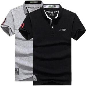 Image 3 - Polo de algodón de marca de alta calidad para hombre, camiseta informal lisa, camisa, polos para hombre