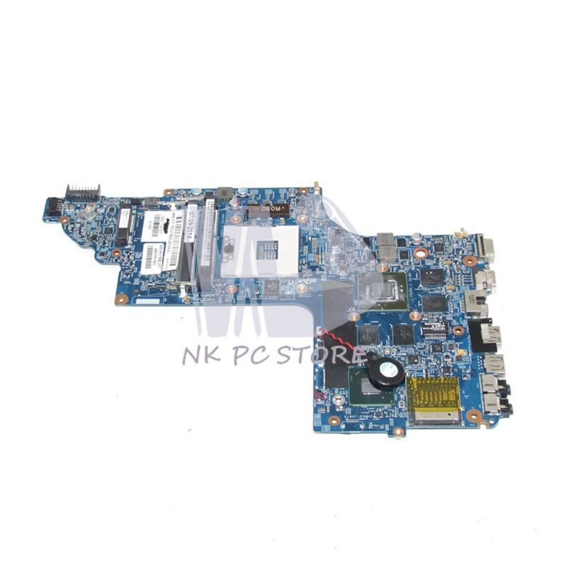682174-501 682174-001 Main Board For HP pavilion DV6 DV6-7000 Laptop Motherboard 15 Inch 48.4ST06.021 GT650M 2GB Video Card 815248 501 main board for hp 15 ac 15 ac505tu sr29h laptop motherboard abq52 la c811p uma celeron n3050 cpu 1 6 ghz ddr3