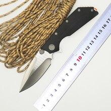 BMT DOC flip plegable Táctico del cuchillo 9Cr18Mov g10 de la lámina supervivencia que acampa de bolsillo cuchillos de caza al aire libre EDC herramientas