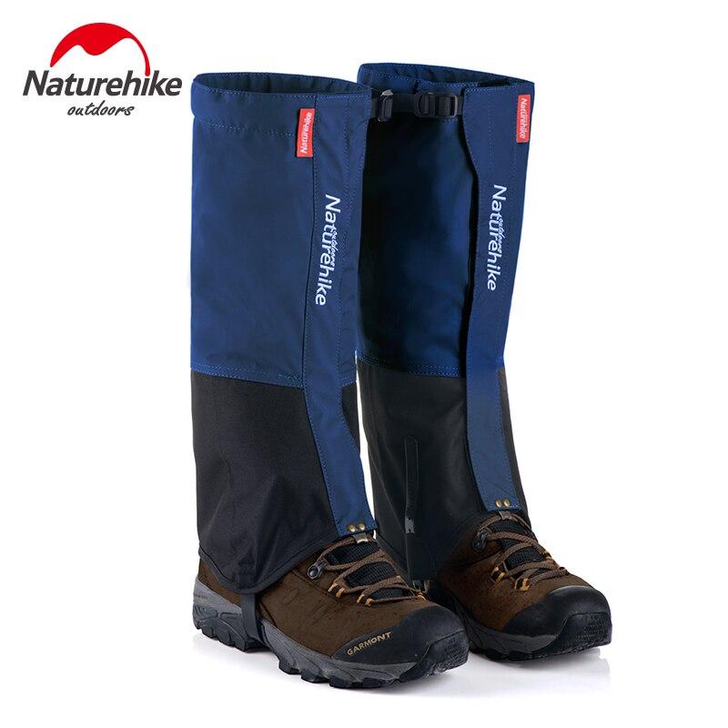 Naturehike 1 Pair gambali Leg Ghette Da Trekking Impermeabile inverno All'aperto Arrampicata Caccia Trekking Neve Leggings Ghette