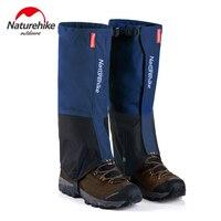 Naturehike 1 Paire jambières Jambe Randonnée Guêtres d'hiver Imperméables En Plein Air Escalade Chasse Trekking Neige Legging Gaiters