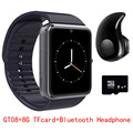 Оригинал GT08 Smart Watch Синхронизации Notifier Поддержка Sim TF Карты Bluetooth Часы Подключения Android Телефон Smartwatch DZ09 PK GV18