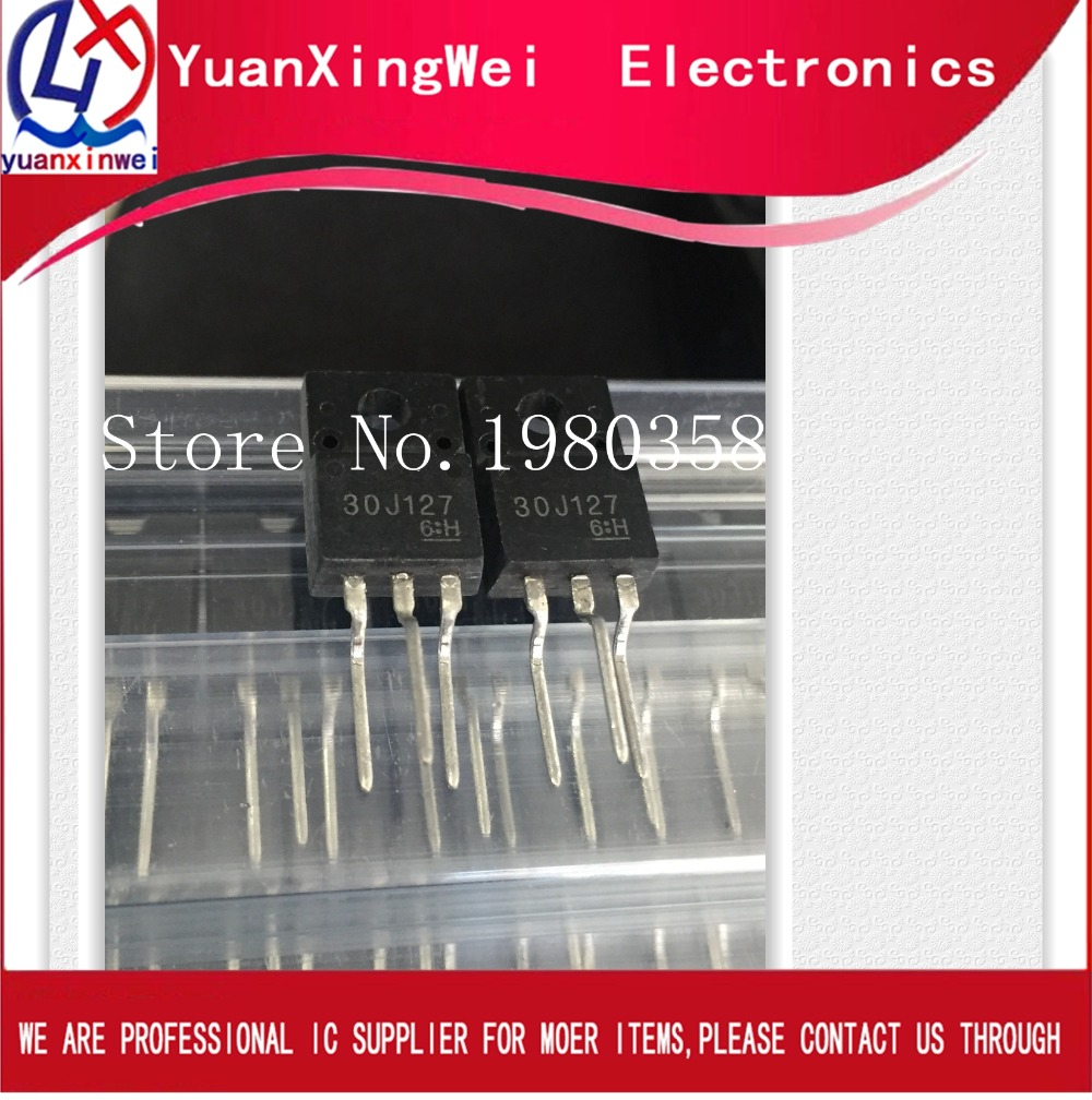 Free Shipping 20pcs/lot  30J127 GT30J127  TO-220F