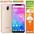 OUKITEL U18 4GB RAM 64GB ROM 16MP Smartphone 5.85 Inch 21:9 Full Screen Face ID MT6750T Octa Core Dual Cam 4000mAh Cellphone