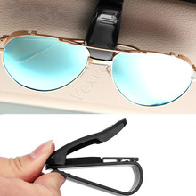Car Sun Visor Sunglasses Eyeglasses Glasses Holder Ticket Clip Multi-Function Auto Fastener Accessories Styling