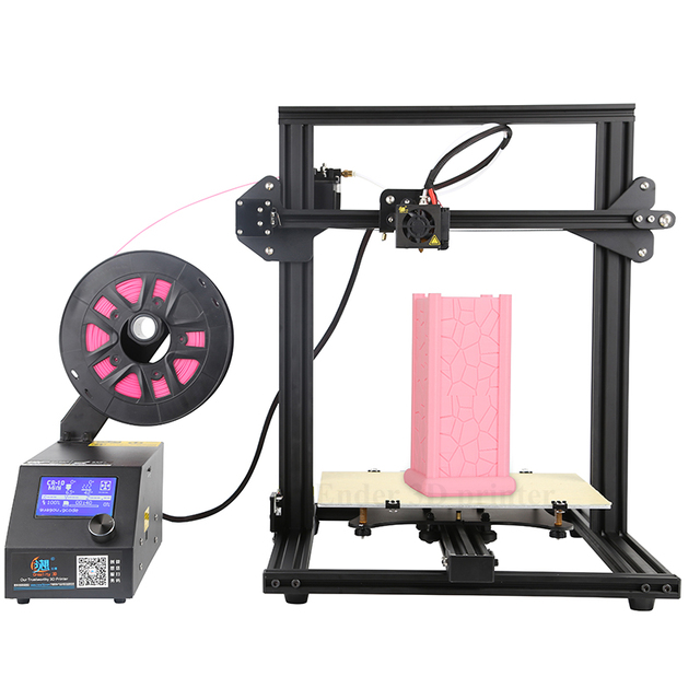 CR-10 mini 3D Printer DIY KIT Large Print Size 300*220*300mm Continuation Print printer 3D and 200g Filaments+Hotbed Creality 3D