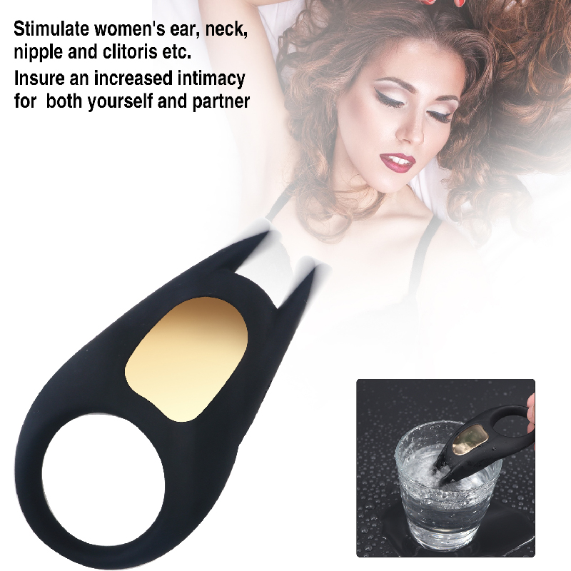 Cock Ring Extender Clitoral Stimulator Penis Ring Delay Lasting Vibrator  Vagina Enlarge Vibrating G-Spot Adult Sex Toys For Men auexy silicone vibrating ring cock waterproof penis clit vibrator rings adult sex toys for men sex products sex toys for couple
