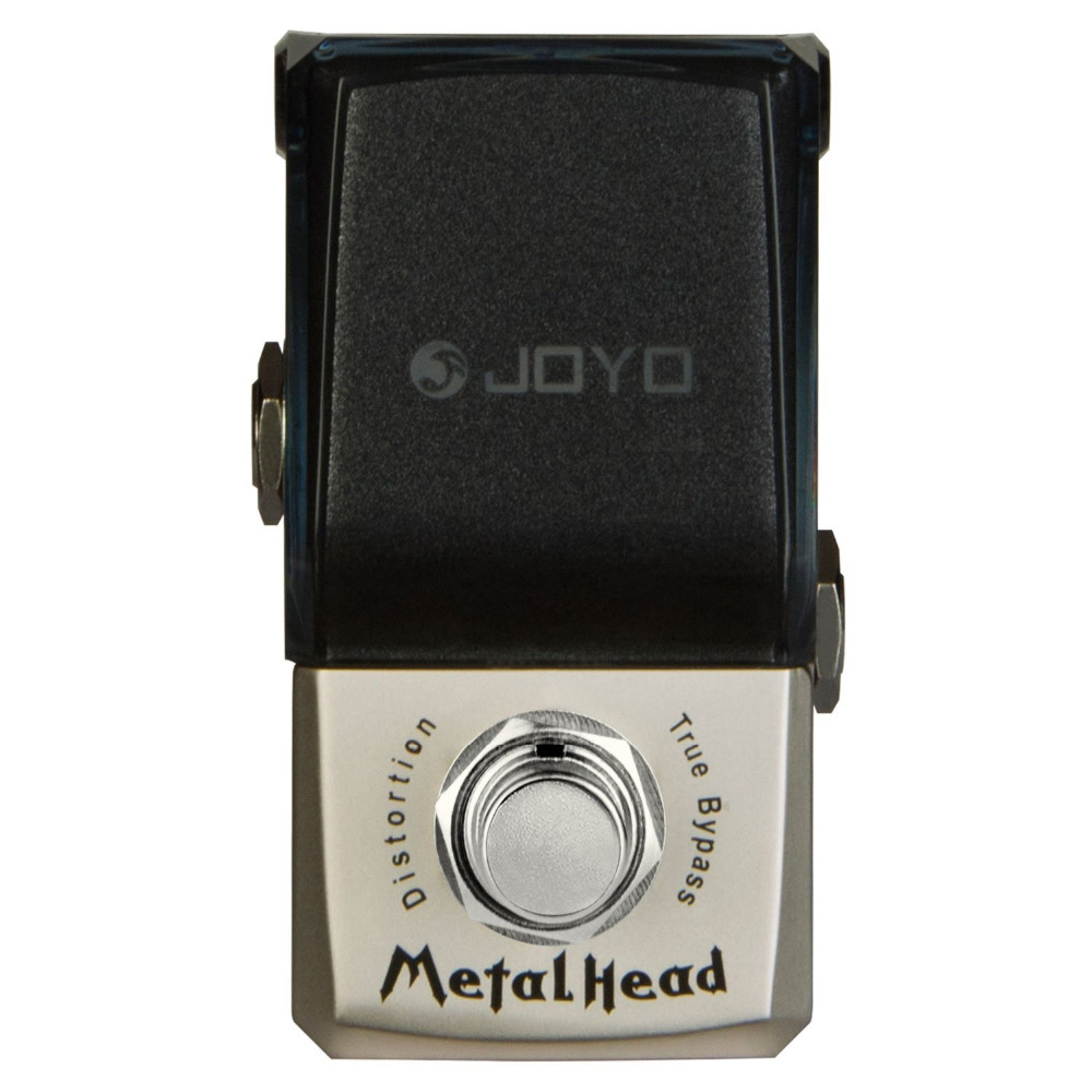 JOYO JF-315 Metal Head Distortion Mini Electric Guitar Effect Pedal with Knob Guard True Bypass joyo jf 317 space verb digital reverb mini electric guitar effect pedal with knob guard true bypass