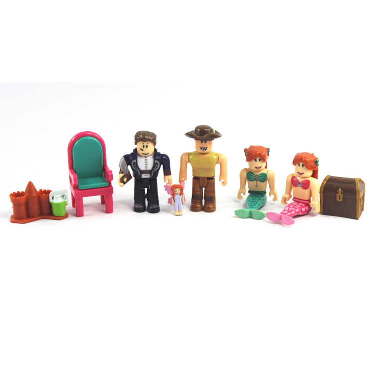 6pcs/set Roblox Roblox Game Figure Toys 2017 7cm PVC Roblox Boys Figurki  Roblox Characters Kids Toys gift