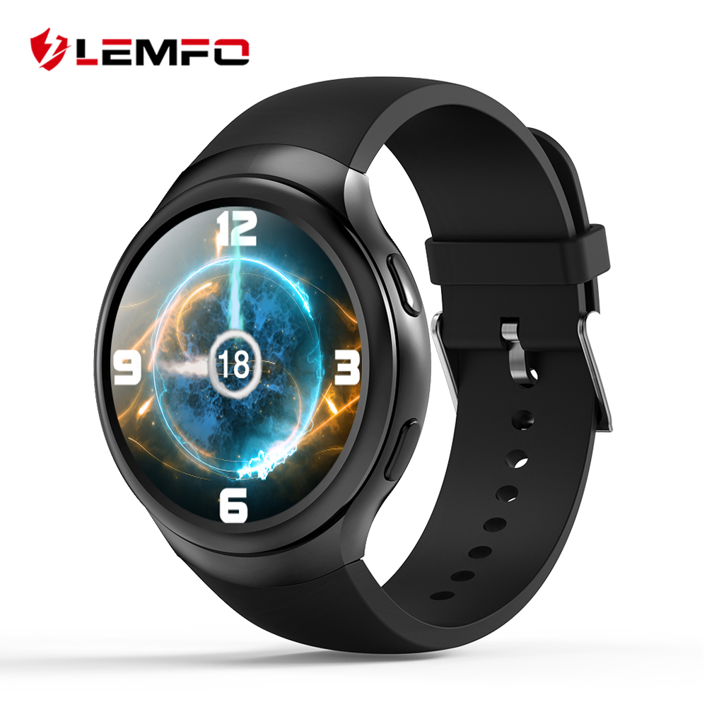 LEMFO LES2 Smart Watch Watches Phone 1GB + 16GB Smartwatch Watch Phone Android GPS Wifi Bluetooth Wristwatch