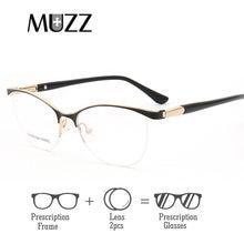 Cat Eye Frauen Optische Gläser Rahmen Mit objektiv Metall Brille Rahmen Frauen Rezept Brillen Klar Myopie Computer Brillen