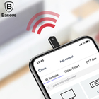 Baseus RO1 Universal infrared remote control for iPhone 7 8 8P X IR Wireless Smart Remote Control for TV Aircondition projector