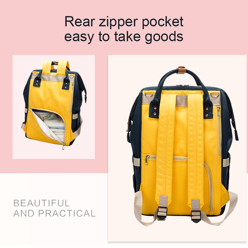2019 New Baby Care Diaper Bag Travel Mummy Maternity Backpack For Baby Stroller Organizer Nappy Changing Bags Mother Bag  (1)
