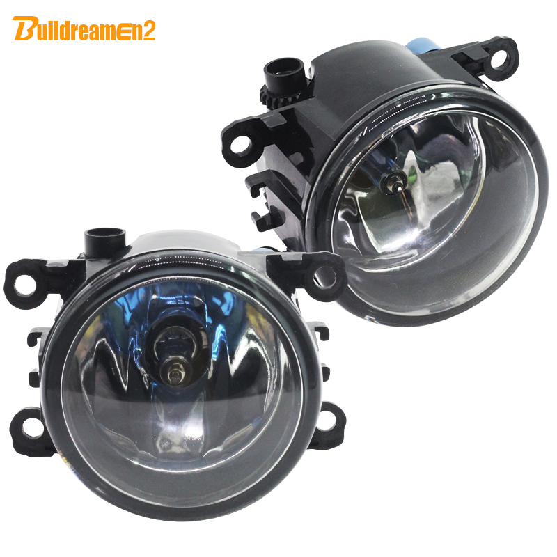 Buildreamen2 For Ford Focus Fusion Fiesta C-Max Falcon Mustang Ranger Explorer 100W Car Light Fog Lamp Halogen Bulb 12V Styling
