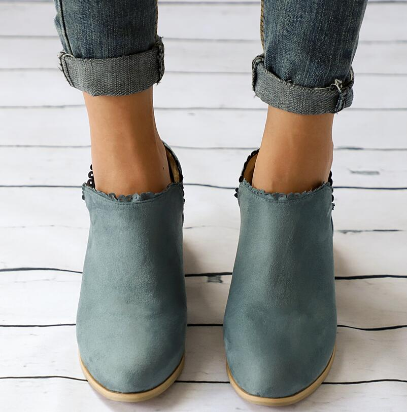 Dames Bas F180666 Mujer Talons pink Chaussure Carré Chaussons Black Chaussures Sapato Filles green Zapatos Cheville Matin Femme Vintage Bottes Chunky Femmes red f7bY6gy