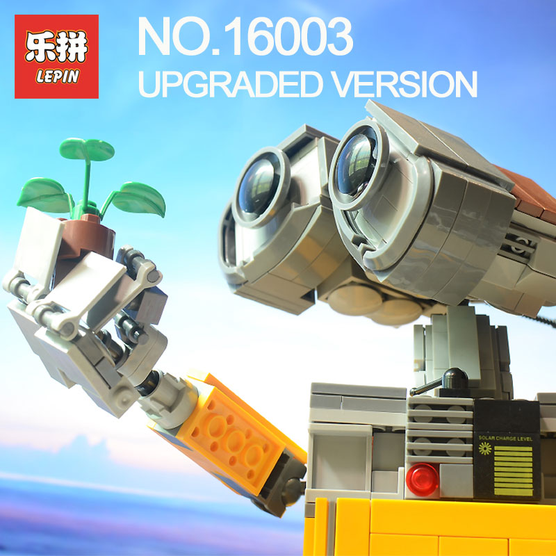 Lepin 16003 687Pcs Idea Robot WALL E Building Set Kits Bricks Blocks Brock toy Model Bringuedos LegoINGlys 21303 for children 3km wisp long range outdoor cpe wifi router 5 8ghz wireless ap wifi repeater access point wifi extender bridge client router page 9