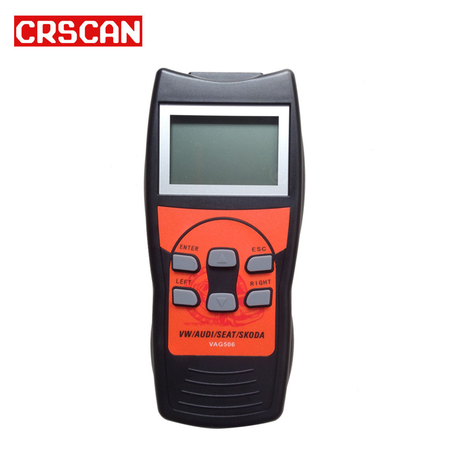 506 Professional Scan Tool with Oil Reset and Airbag Reset Function Update online with Multilanguages