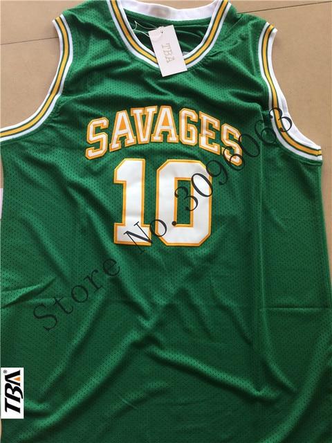 NEW Mens College Jersey Dennis Rodman Basketball Jerseys Rodman 10 OKLAHOMA  SAVAGES White Basketball Jersey Stitched Shirts 5a59e5c47