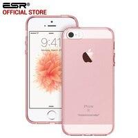 Case For IPhone SE ESR Crystal Clear Ultra Slim Light Weight Hybrid Case Soft TPU Bumper
