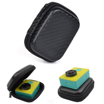 Small Waterproof Storage Camera Bag Eva Cover Box For Gopro Hero 4 3 Sjcam Sj4000 Action /Sport Camera Xiaomi Yi Box Accessories Camera/Video Bags