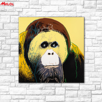 Wall Wall Art Gorilla Oil Painting Wall Art Picture Paiting Canvas Paints Home Decor Abstract Print