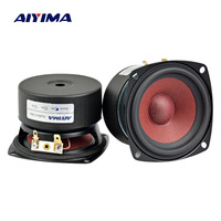 Aiyima 2PC 3Inch Audio Speakers 4Ohm 8Ohm 20W Full Range Speaker HiFi Loudspeaker For TV Computer