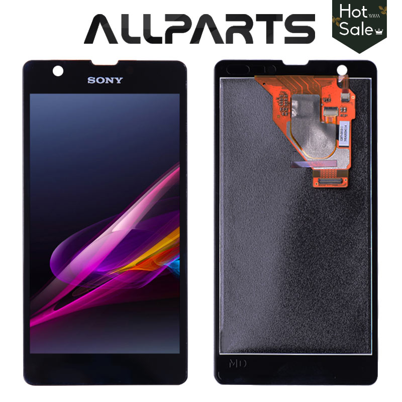 Original 4.6'' 1280x720 Display For SONY Xperia ZR Display Touch Screen Digitizer Assembly Replacement ZR LCD M36h C5502 C5503