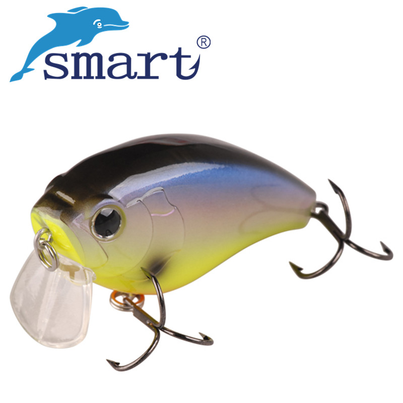 SMART Crankbaits Fishing Lure 60mm18g Floating0.3m Carp Fishing Wobblers Crank Baits Isca Artificial Pesca Leurre Souple Peche amlucas minnow fishing lure 110mm 9 5g crankbait wobblers artificial hard baits pesca carp fishing tackle peche we266