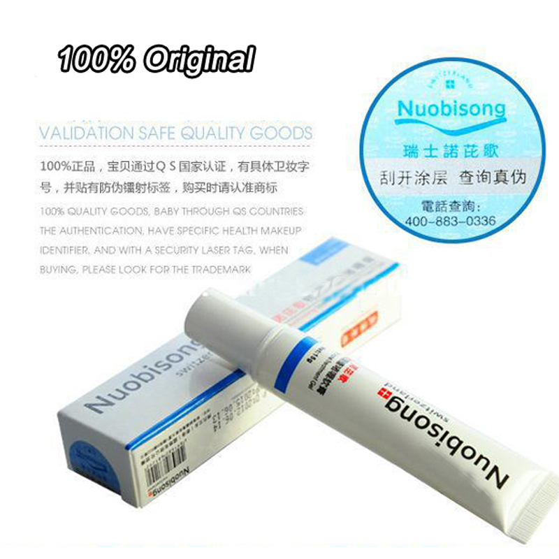120PCS/lot   Nuobisong Specific Acne Treatment Gel, Face Care Effectively Remove Pimples Without Irritating EMS Or DHL For Free